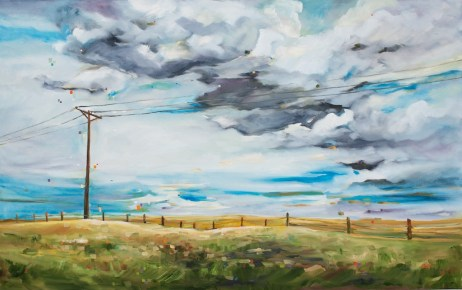 You can see for miles...-SOLD