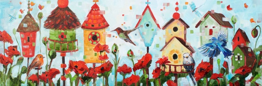 The Flock always flies home-SOLD