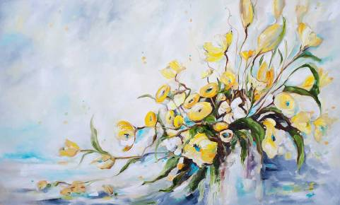 Explosion of Blooms-SOLD