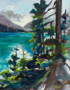 The Approach-Lake O'Hara-SOLD