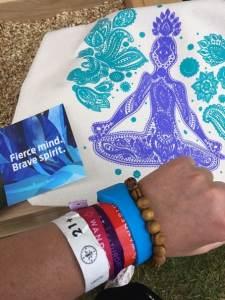 Wanderlust Festival bracelets