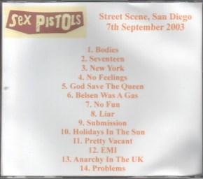 San Diego Street Scene 2003 Sex Pistols