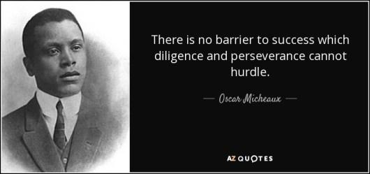 quote Oscar Micheaux