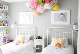 bedroom with child pics