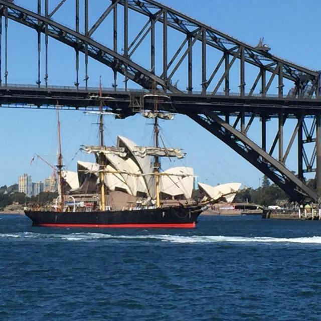 When pirateships infuse with sydneyharbour