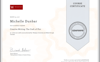 Coursera: The Craft of Plot – passed