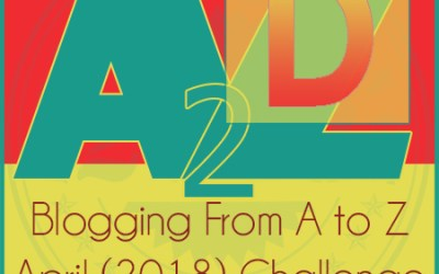 A to Z Blogging challenge: D is for Describing through action and inner voice.