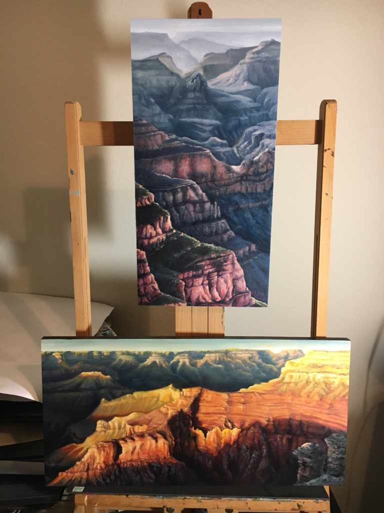 Grand Canyon Oil Paintings by Michelle East