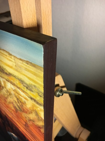 grand canyon sunset painting side view finished edges