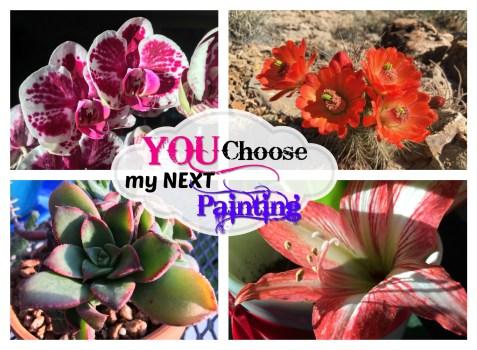 Choose my next painting