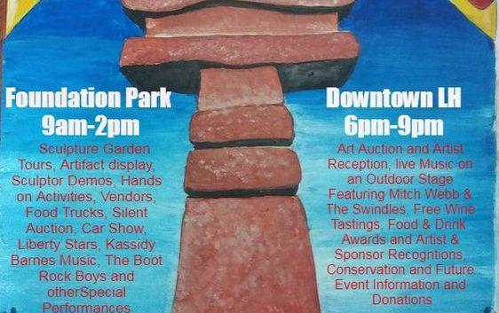 Liberty Hill Sculpture Festival Celebration