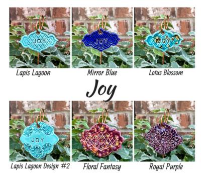 Joy Ceramic Gift Plant Marker