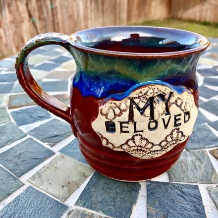 My Beloved Mug Handmade wheel thrown pottery