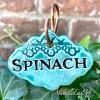 Spinach Garden Marker