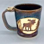 Moose Mugs handmade wheel thrown stoneware