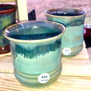 Turquoise Sands Tumblers Set of 2