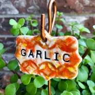Garlic Garden Marker