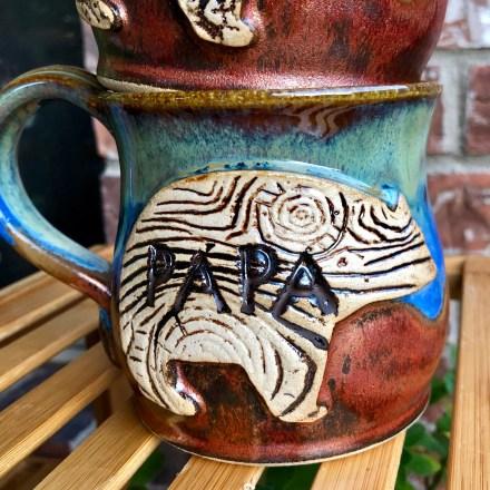 mama paper bear mugs
