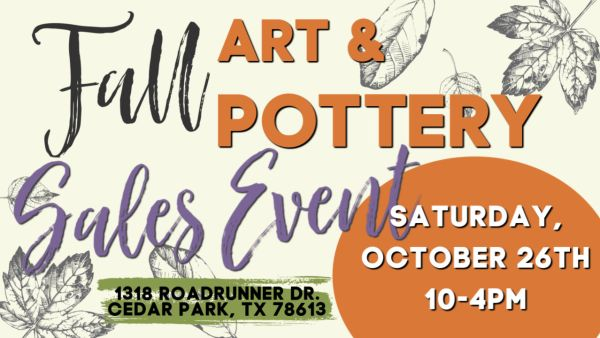 Michelle East Art Fall Art and Pottery SaleFall Art and Pottery Sale