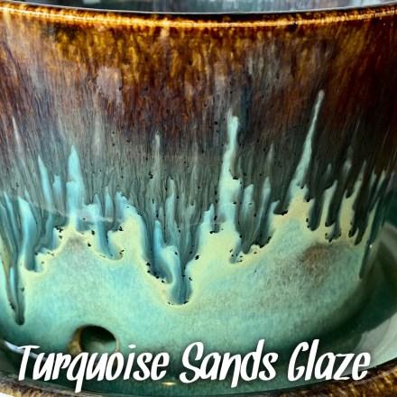 Turquoise Sands glaze combo