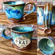 Pray Handmade Mug