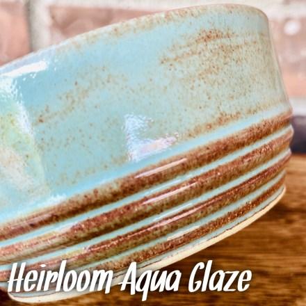 Heirloom Aqua glaze
