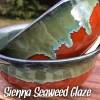sienna Seaweed glaze combo