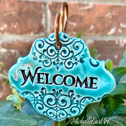 Welcome Garden Marker
