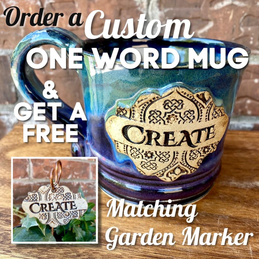 Custom One Word Mugs