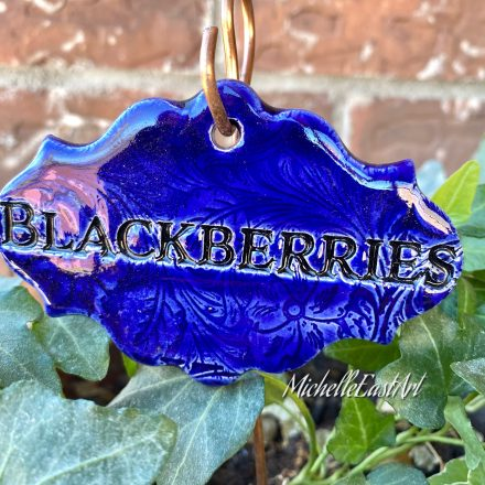 blackberries Garden Marker