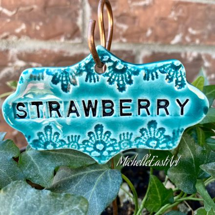 Strawberries Garden Marker