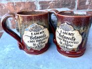 I am My Beloveds and my beloved is mine handmade mug