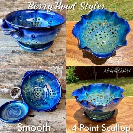 Ceramic Berry Bowl Styles