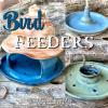 Handmade Ceramic Bird Feeders