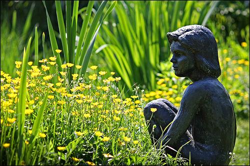 sitting-in-the-garden