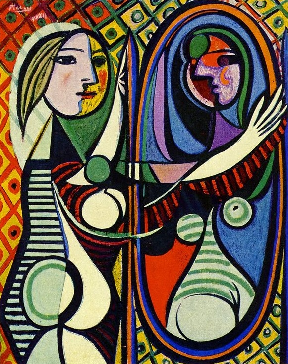 Pablo Picasso - Girl Before a Mirror - 1932
