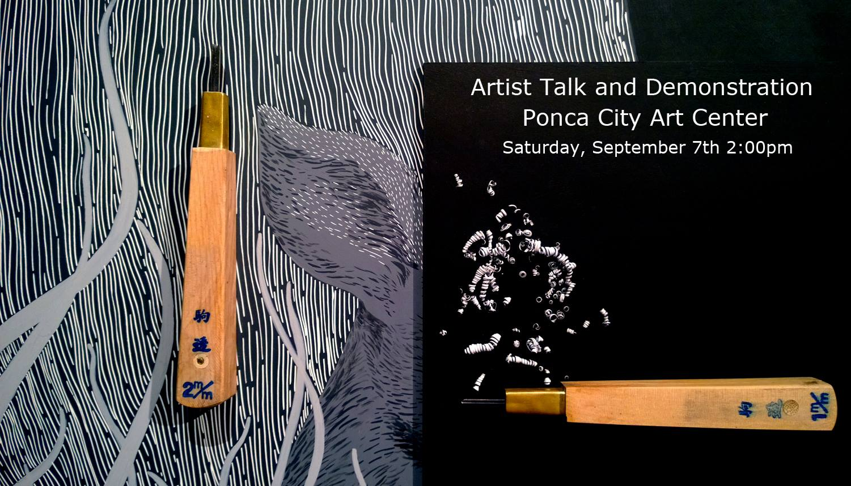 Artist Talk and Art Demonstration at Ponca City Art Center