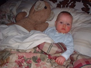 Thomas in Bed Serious 04-05-01