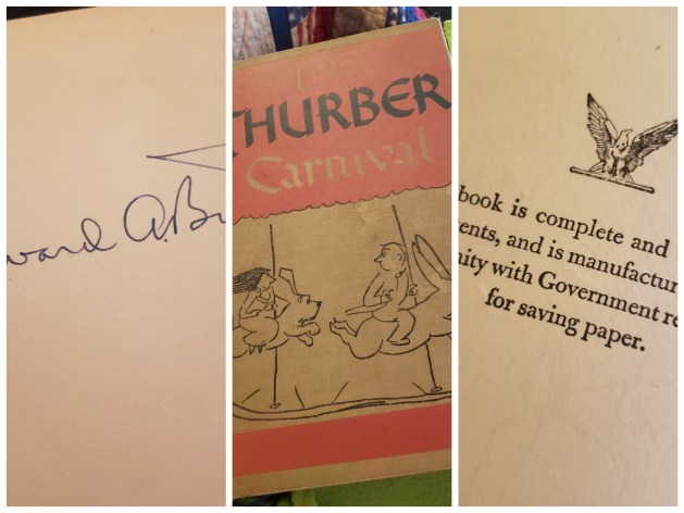 New Read: The Thurber Carnival by James Thurber