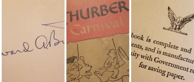 Thurber book cover.