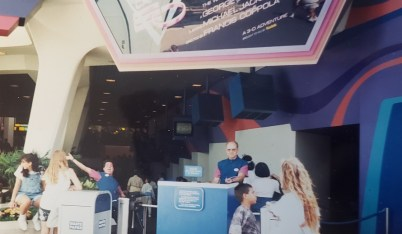Disneyland Captain EO 1990