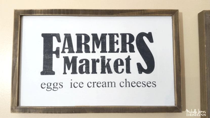 farmhouse kitchen sign by michelle j designs