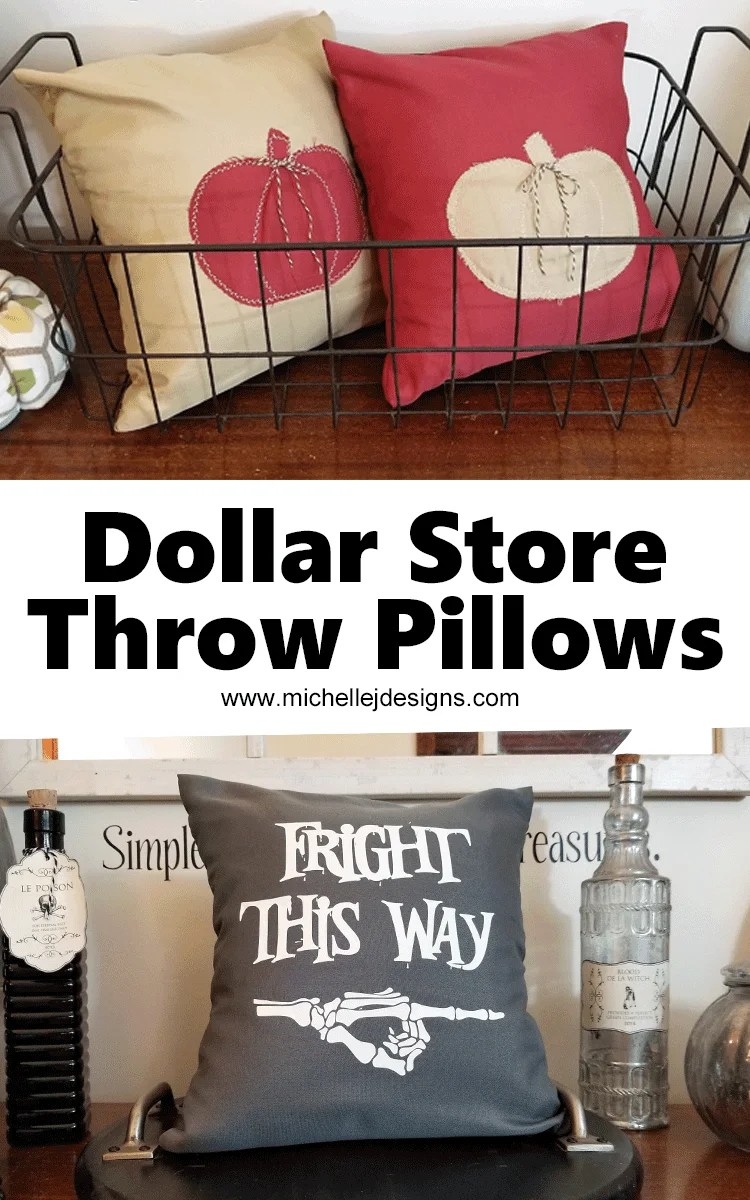 fall throw pillow covers dollar store
