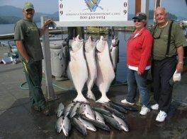 Ken, Ma and Larry in Alaska