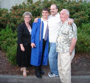 Justin's graduation