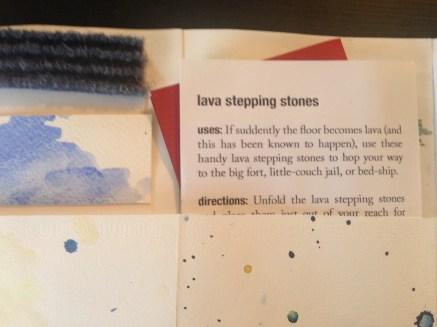 Lava Stepping Stones