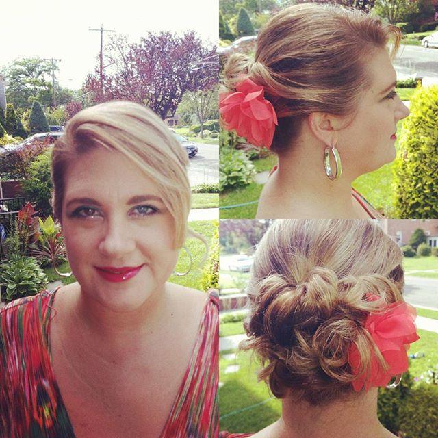 Updo for a #wedding.  #Hair by #giorgiosny