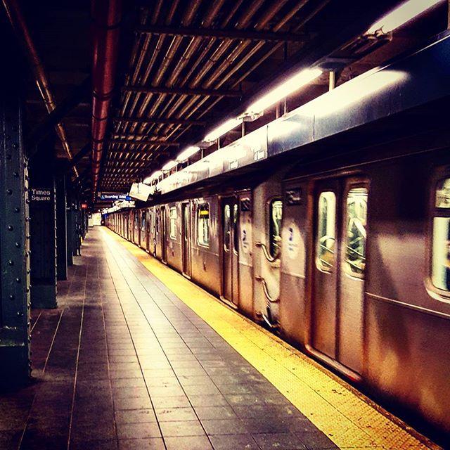 Times Square #mta #thesubway #newyorkphotographer #newyork #newyorkcity #trains