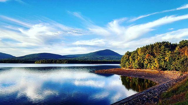 Ashokan Reservoir At Sunset #catskills #ulstercounty #upstatenewyork #beauty #nature #woodstock #newyork #newyorkstate