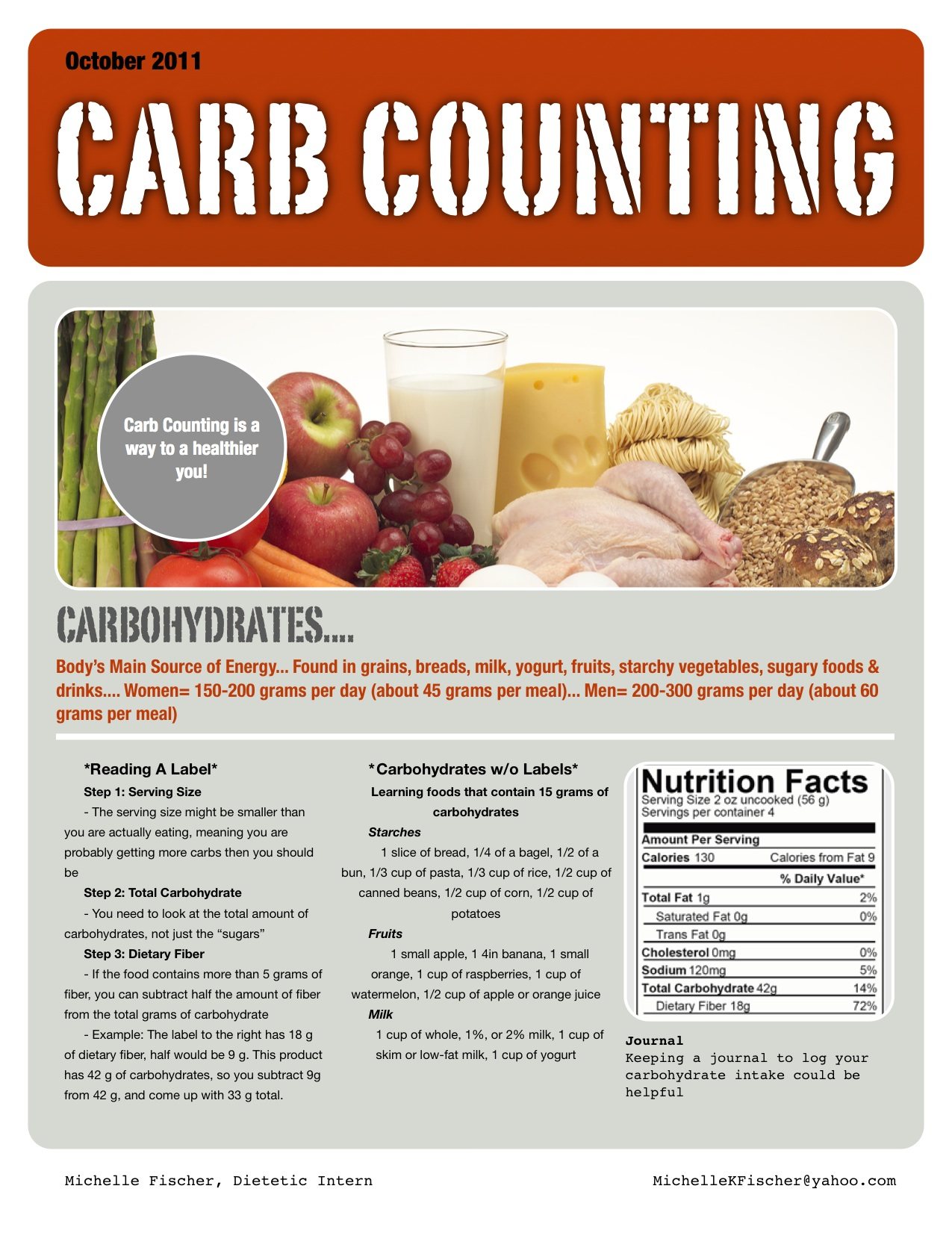 Carb Counting Handout
